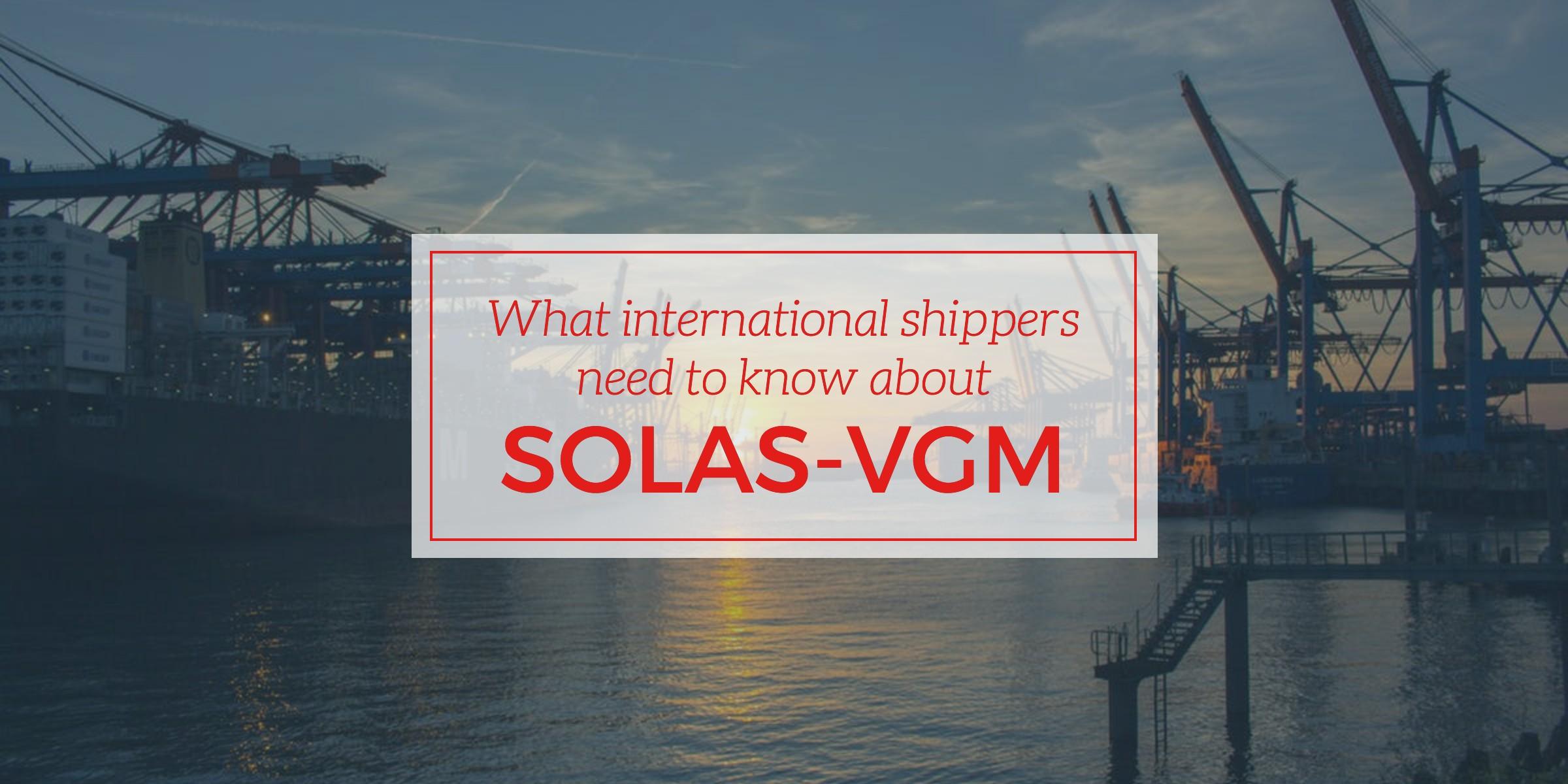 international-shippers-SOLAS-VGM